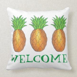 Het WELKOM Nieuwe Hoofdkussen van de Ananas van Kussen