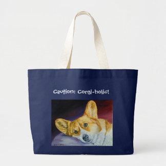 Het Welse Canvas tas Corgi van Pembroke