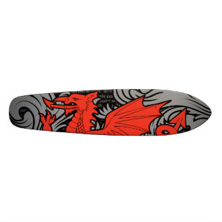 Het Welse Dek van het Skateboard van de Draak