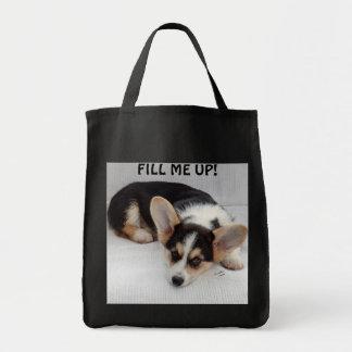 Het Welse Puppy Corgi van Pembroke op Uw Zak van d Draagtas