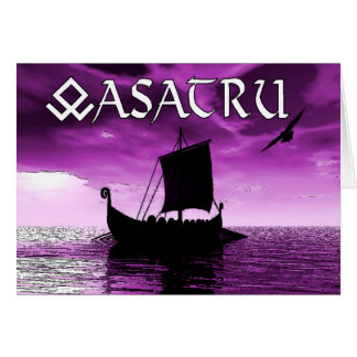 Het Wenskaart van Asatru