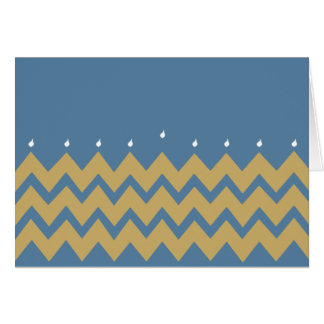 """Het Wenskaart van de Chanoeka/Envelop de """"Chevron"""
