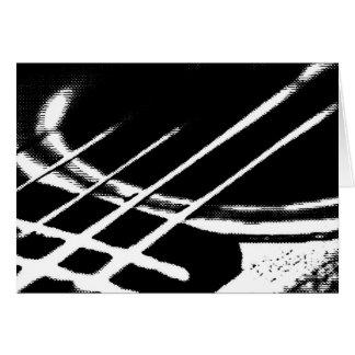 Het Wenskaart van de gitaar