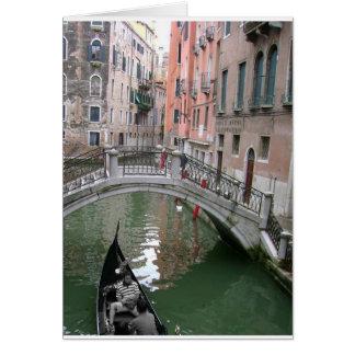 Het Wenskaart van de Gondel van Venetië