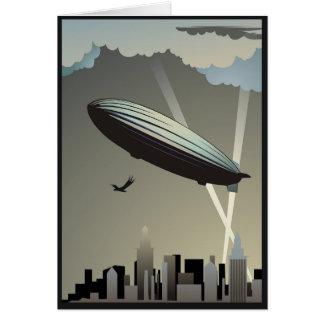 Het Wenskaart van de Horizon van de zeppelin