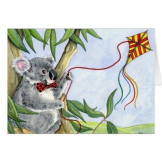 Het wenskaart van de Koala van Kindi