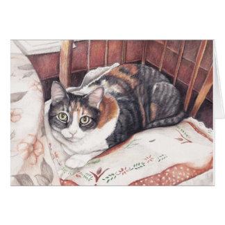 Het Wenskaart van de Kunst van het Kat van het