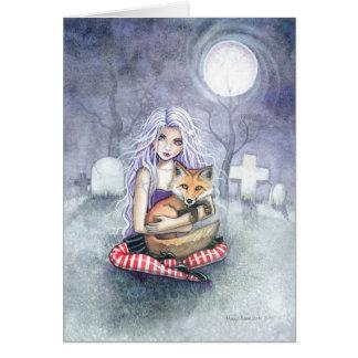 Het Wenskaart van de Vos van Annie door Molly
