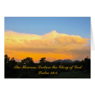 Het Wenskaart van de Zonsondergang van het 19:1