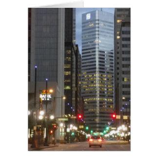 Het Wenskaart van Denver Colorado