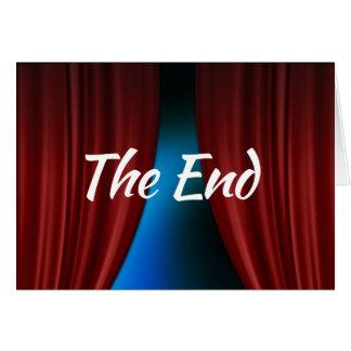 Het wenskaart van het Eind