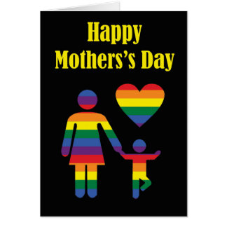 Het Wenskaart van het moederdag van Gebogen Gevoel