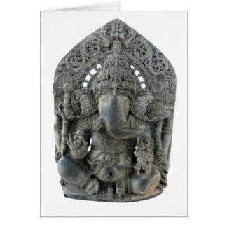 Het Wenskaart van het Standbeeld van Ganesh