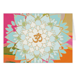 Het Wenskaart van Lotus Mandala
