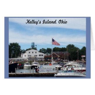 Het Wenskaart van Ohio van de Jachthaven van