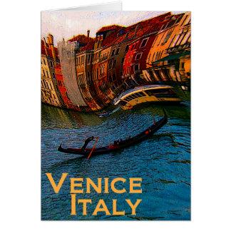 Het Wenskaart van Venetië Italië