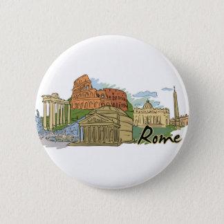 Het werd niet gebouwd in een Dag (Rome) Ronde Button 5,7 Cm