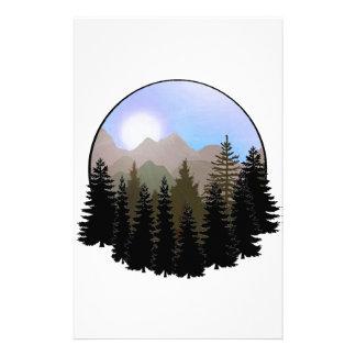 Het Wereldbol van de natuur Briefpapier