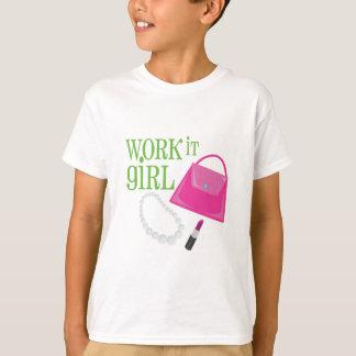 Het werk het Meisje T Shirt
