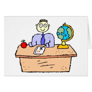 Het Werken van de leraar Briefkaarten 0
