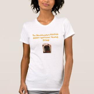 Het Westchester/Fairfield Golden retriever Meetup T Shirt