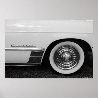 Het Wiel van Cadillac Poster