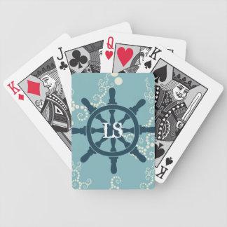 Het Wiel van de boot Bicycle Speelkaarten