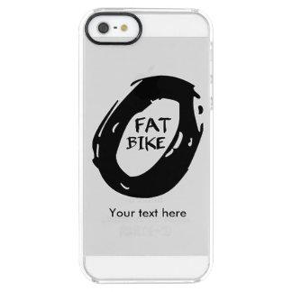 Het Wiel van de Fiets van de knuppel Doorzichtig iPhone SE/5/5s Hoesje