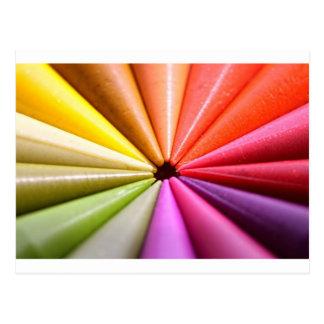 Het Wiel van de kleur Briefkaart