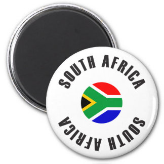 Het Wiel van de Vlag van Zuid-Afrika Magneet