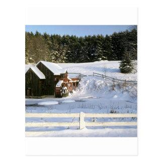 Het Wiel van het Water van de winter Guildhall Briefkaart