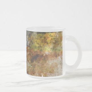 Het Wijnvat van de herfst in een Wijngaard Matglas Koffiemok