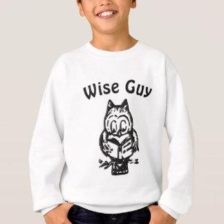 Het wijze Sweatshirt van de Uil van de Kerel Wijze