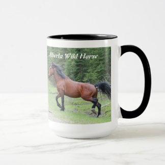 """Het Wild paard van Alberta van de """"macht in   Mok"""