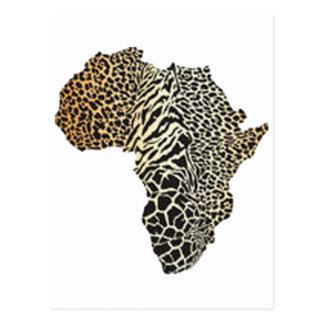 HET WILD VAN AFRIKA BRIEFKAART