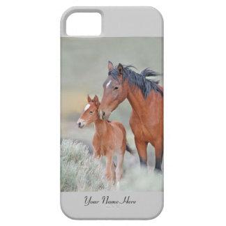Het wilde Hoesje van de Paarden iPhone5 van de Mus