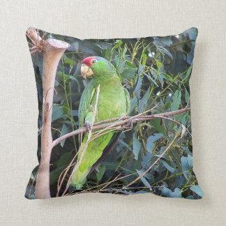 Het wilde Hoofdkussen van de Papegaai van Amazonië Sierkussen
