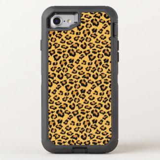 Het wilde Patroon van het Bont van Faux van de OtterBox Defender iPhone 8/7 Hoesje