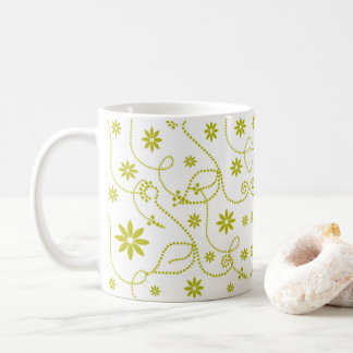 Het willekeurige Limoen van de Bloem van de Punt Koffiemok
