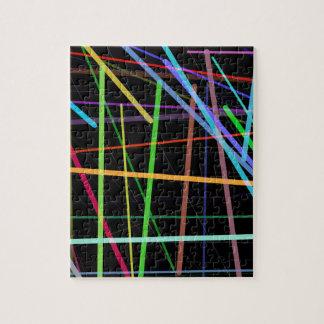 Het willekeurige Retro Neon van de jaren '90 van Puzzel