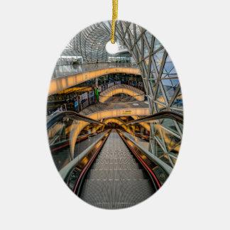 Het Winkelcomplex Frankfurt van MyZeil Keramisch Ovaal Ornament