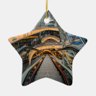 Het Winkelcomplex Frankfurt van MyZeil Keramisch Ster Ornament