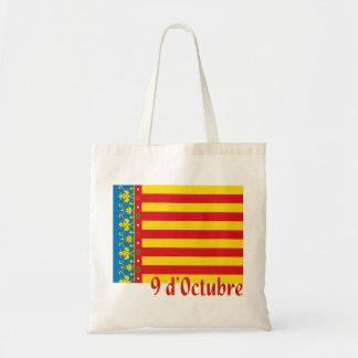 Het Winkelen van de Vlag van Valencia Zak Draagtas