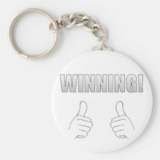 Het winnen! sleutelhanger