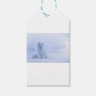 het wit van de de dierenmacht van IJsland Cadeaulabel