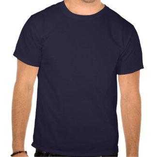 Het wit van de de naamhoofdtelefoon van DJ op donk Tshirt