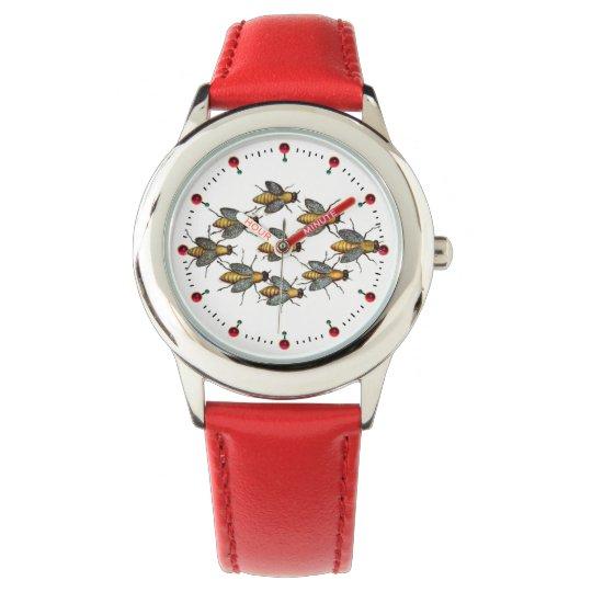 Het Wit van de IMKERIJ van de BIJEN/van de IMKER Horloges