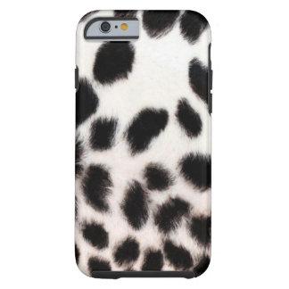 Het Wit van de jachtluipaard Tough iPhone 6 Hoesje