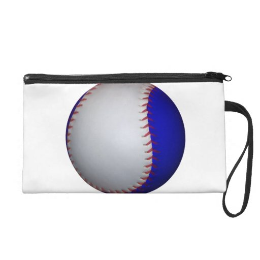 Het witte en Blauwe Softball van het Honkbal