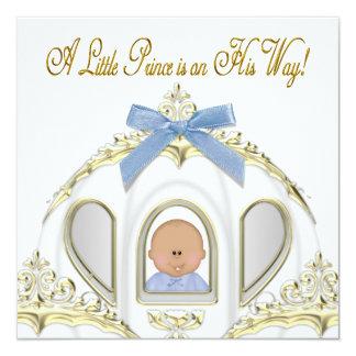 Het witte en Gouden Afrikaanse Amerikaanse Baby Kaart